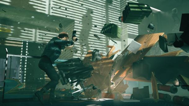 《控制》早期版本与最终成品对比 见证游戏进化历程