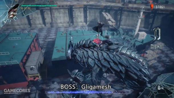 《鬼泣5》新实机视频放出 大量Boss战曝光