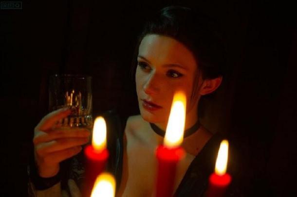 美女COS《刺客信条:枭雄》伊薇 丰满又贵气的刺客