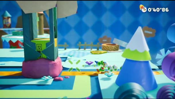 小龙大冒险 《耀西的手工世界》9分钟实机试玩视频