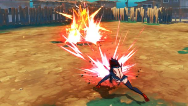Arc System全新格斗游戏《斩服少女:异布》截图展示