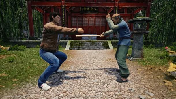 《莎木3》新故事预告发布 芭月凉求老人传授武艺