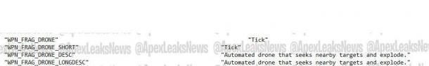国外数据挖掘显示:《Apex英雄》或加入自爆机器人
