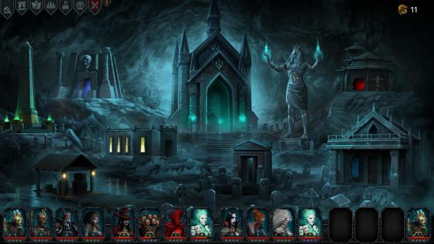 暗黑地牢类新作《伊拉特斯:死神降临》可玩性高