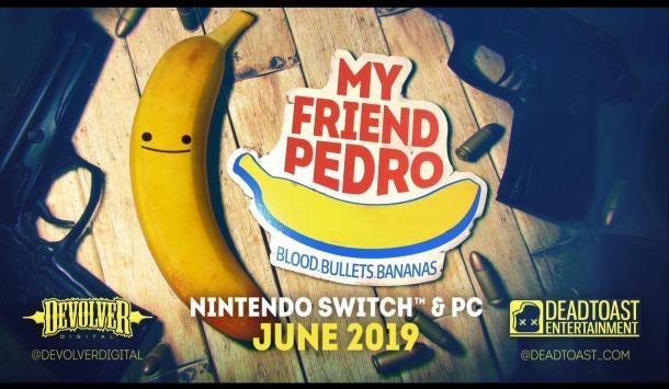 鲜血子弹和香蕉!横版射击《我的朋友佩德罗》激爽宣传片