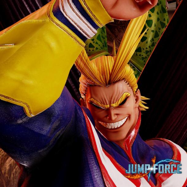这世上笑着的人最强大 欧尔麦特将参战《Jump大乱斗》