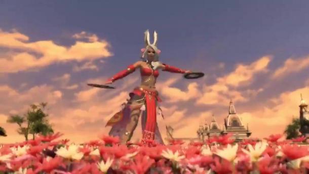 史克威尔《最终幻想14》资料片全新职业舞者展示