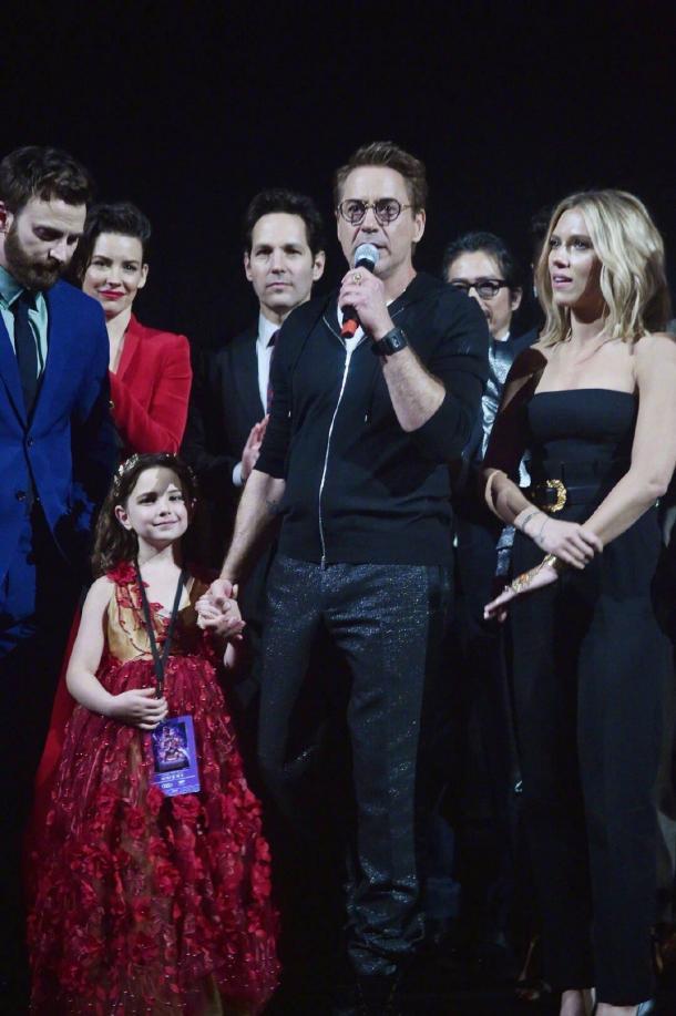 《复联4》钢铁侠成年女儿剧情被删 来自罗素兄弟的爆料
