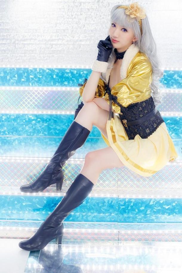 日本长腿樱花妹Cos美图欣赏 身材傲人风情万种