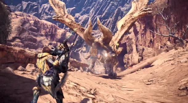 《怪物猎人世界:冰原》重弩+轻弩演示 攻击距离更远
