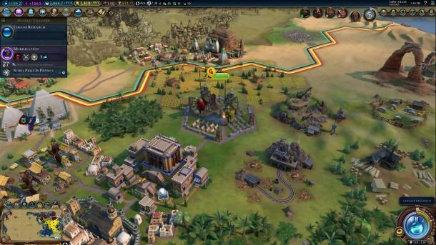 《文明6》本月更新将加入新地图类型 对英国做出调整