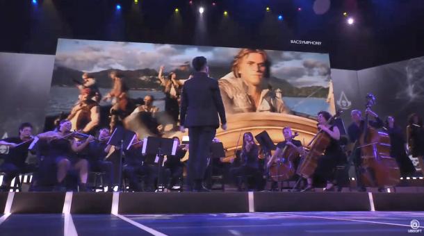 E3:育碧《刺客信条》主题音乐会 将巡回演出