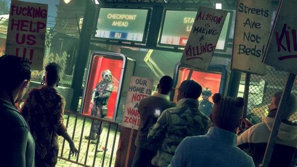 E3:《看门狗:军团》艺术图及截图 老太太狂电特警