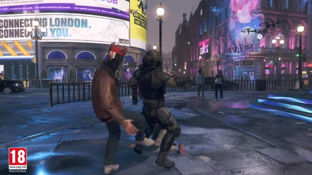 《看門狗:軍團》實機演示 扮演美女老太解放倫敦