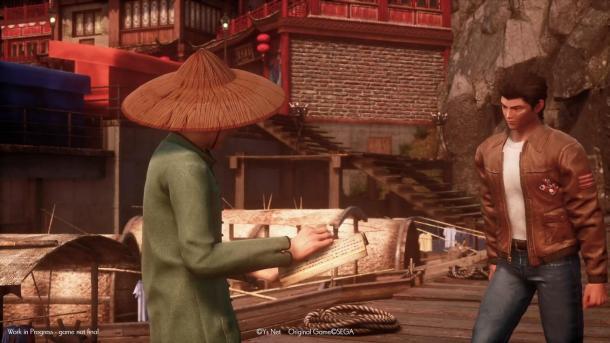 《莎木3》最新預告片 芭月涼拜師學武揍小混混
