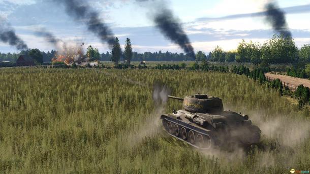 《鋼鐵之師2》官方中文免安裝版下載 二戰東線戰場廝殺