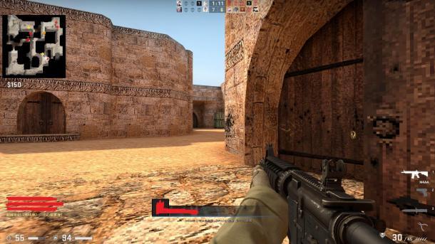 """《反恐精英》20周年 《CS:GO》带你重温老版""""沙漠2"""""""