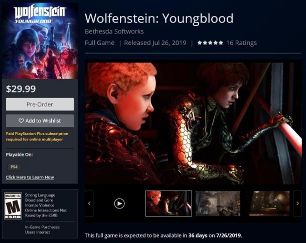 《德军总部:新血液》比前作更庞大 售价还比前作低