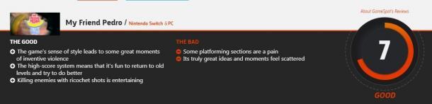 就像是吳宇森大片!《我的朋友佩德羅》IGN 8.5分