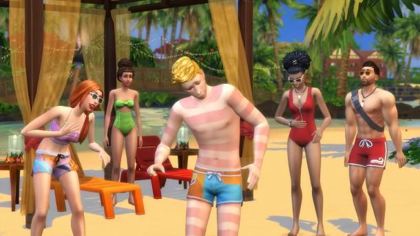 《模拟人生4:海岛生活》新预告 在海岛陪人鱼玩耍