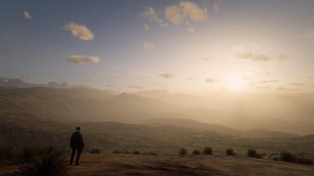 《荒野大鏢客OL》玩家突破地圖邊界看風景 畫面太美了