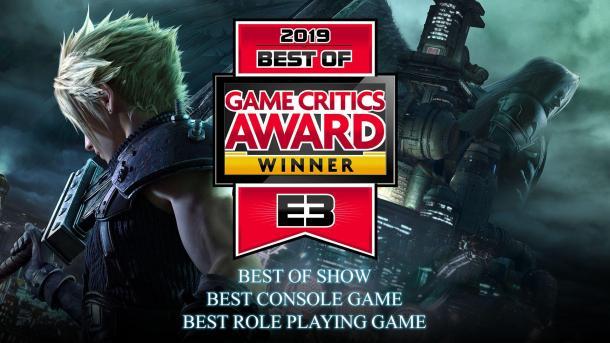 《最�K幻想7:重制版》�@三�E3大�� 成19年最佳�[��