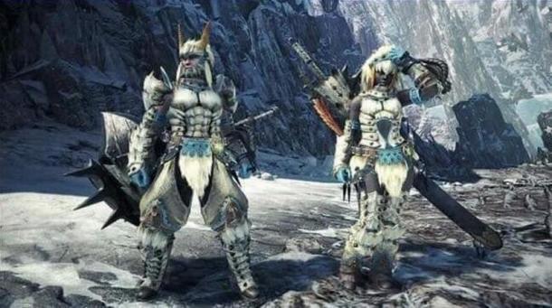 《怪物獵人世界:冰原》新截圖 冰牙龍套裝亮相