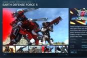 《地球防衛軍5》上架Steam商城 7月發售,支持繁體中文