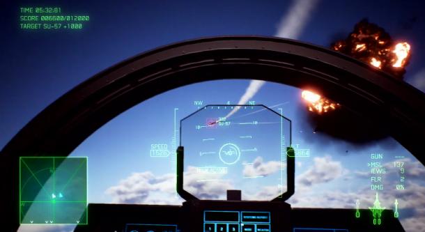 皇牌零最强战机登场!《皇牌空战7》公布新机型