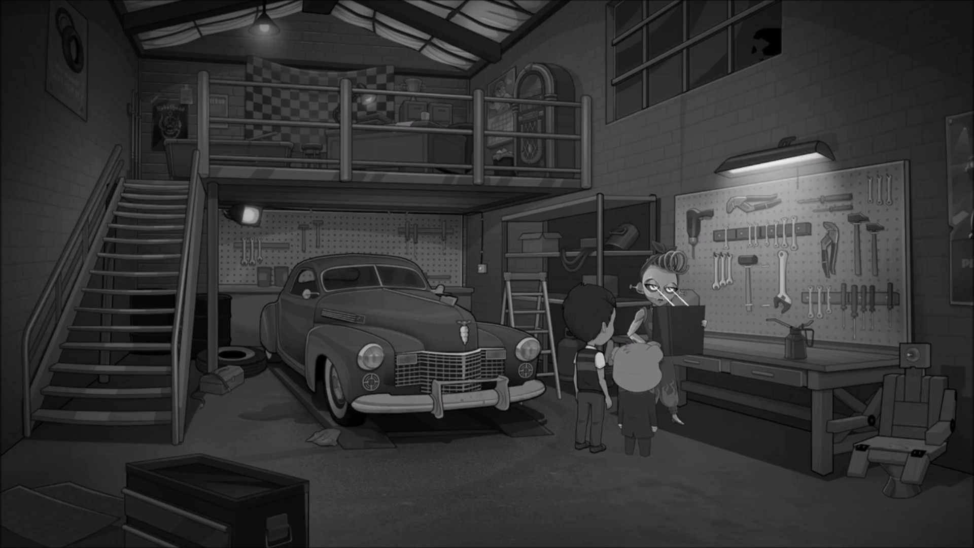 侦探熊与我同在:丢失的机器人图片