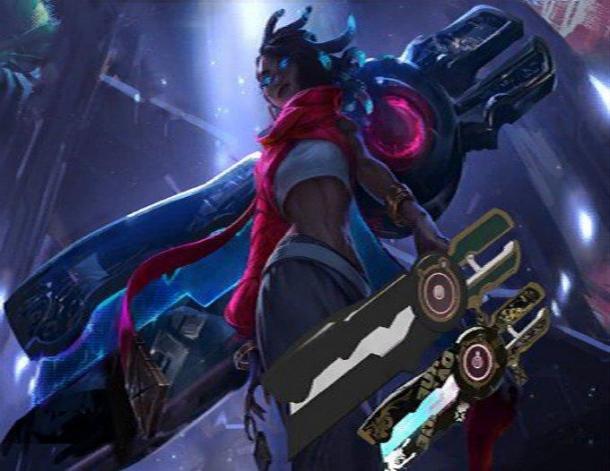 《英雄联盟》新英雄疑似曝光 身背机械臂的神秘少女
