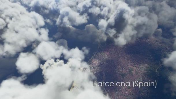 《微软飞行模拟器》最新视频剪辑展示精致画面