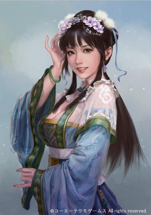 娇俏可人晋皇后 《三国志14》王元姬立绘公开