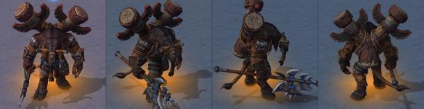 《魔兽争霸3:重制版》大量角色模型公开 众英雄旧茂换新颜