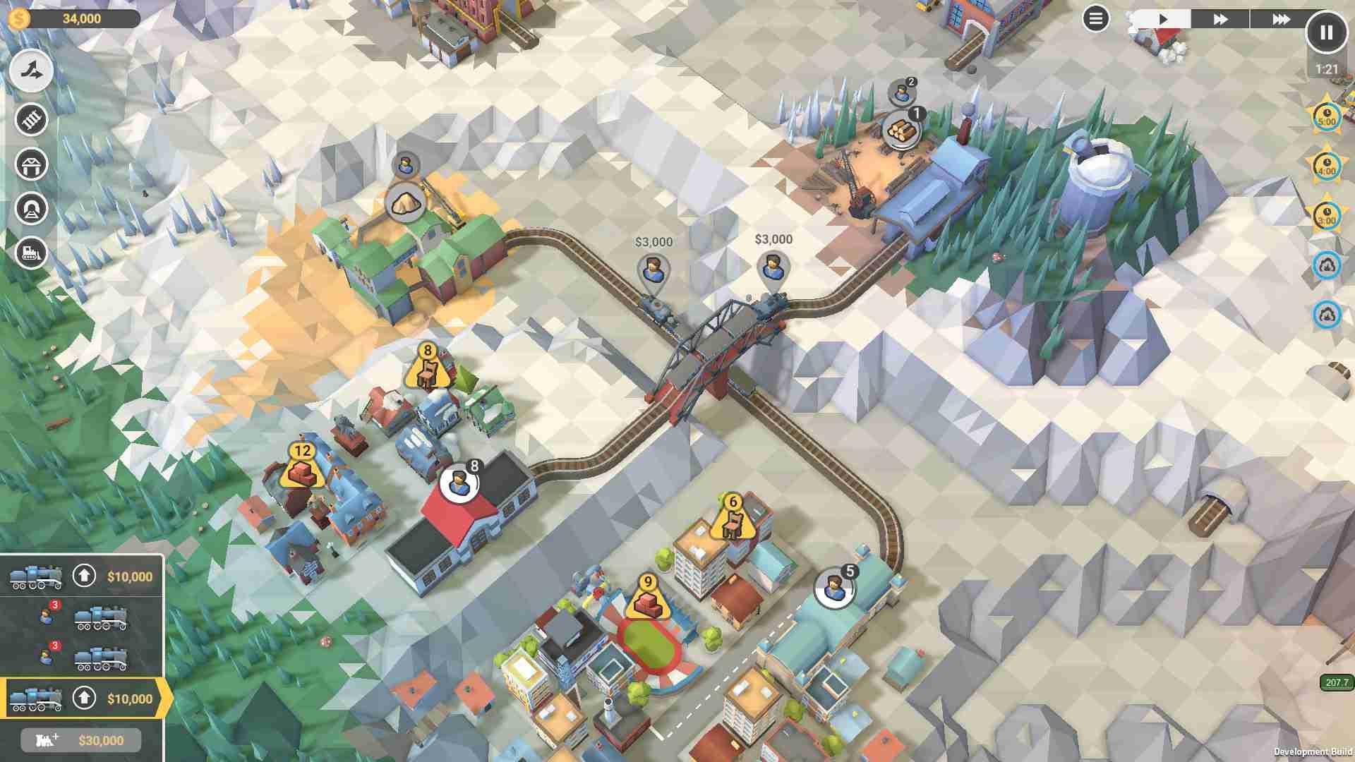 火车山谷2图片