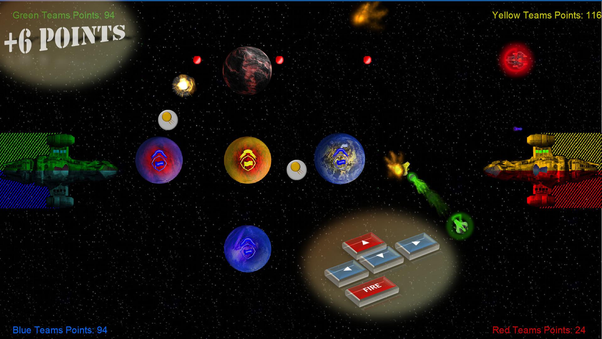 反弹星球图片