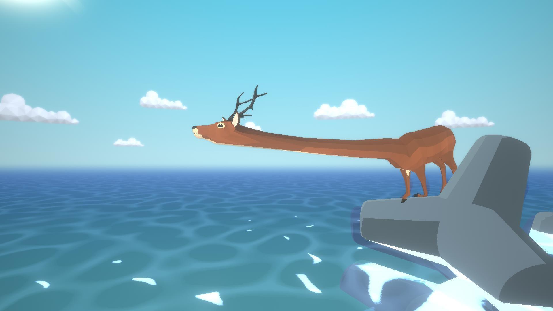 沙雕鹿模拟器图片