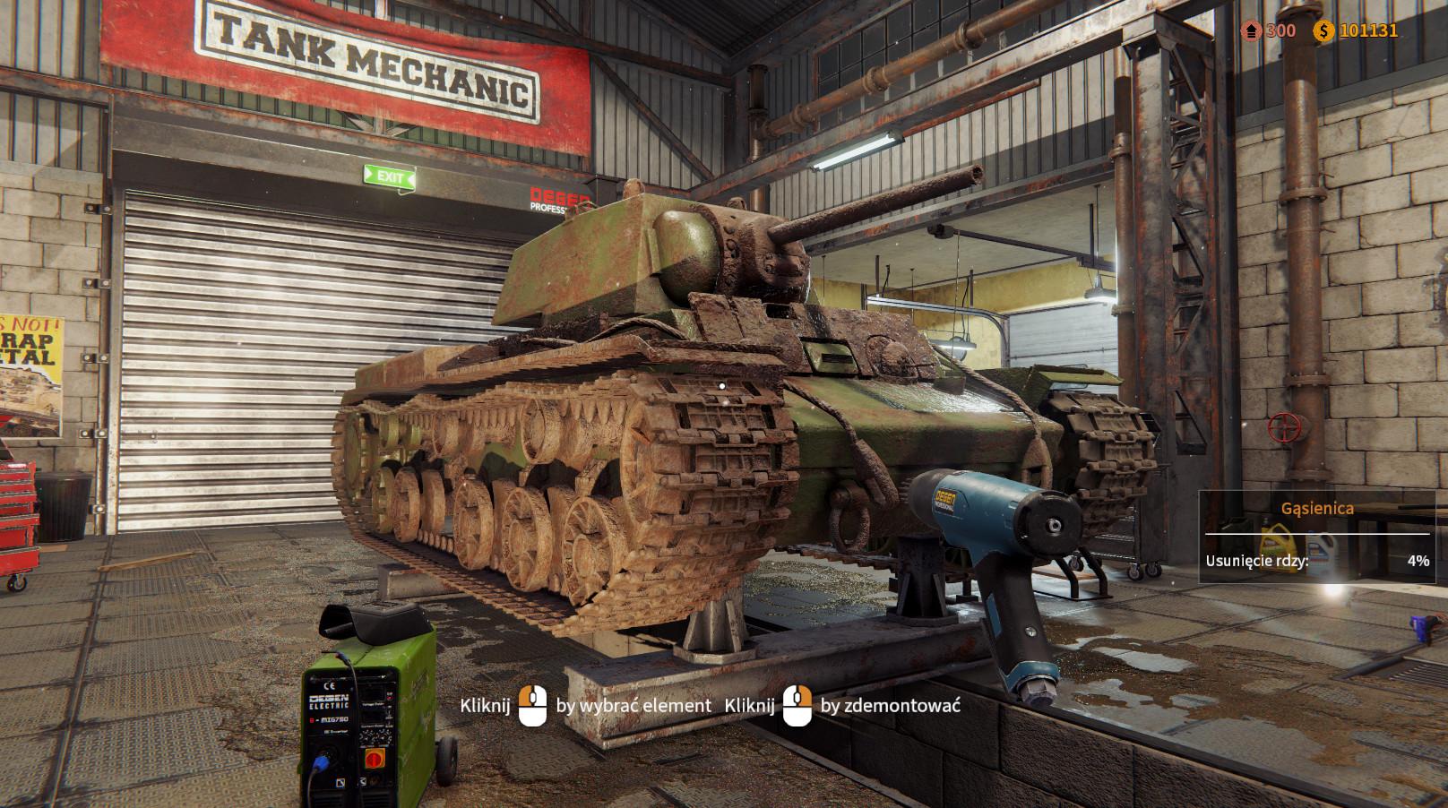 坦克修理模拟图片
