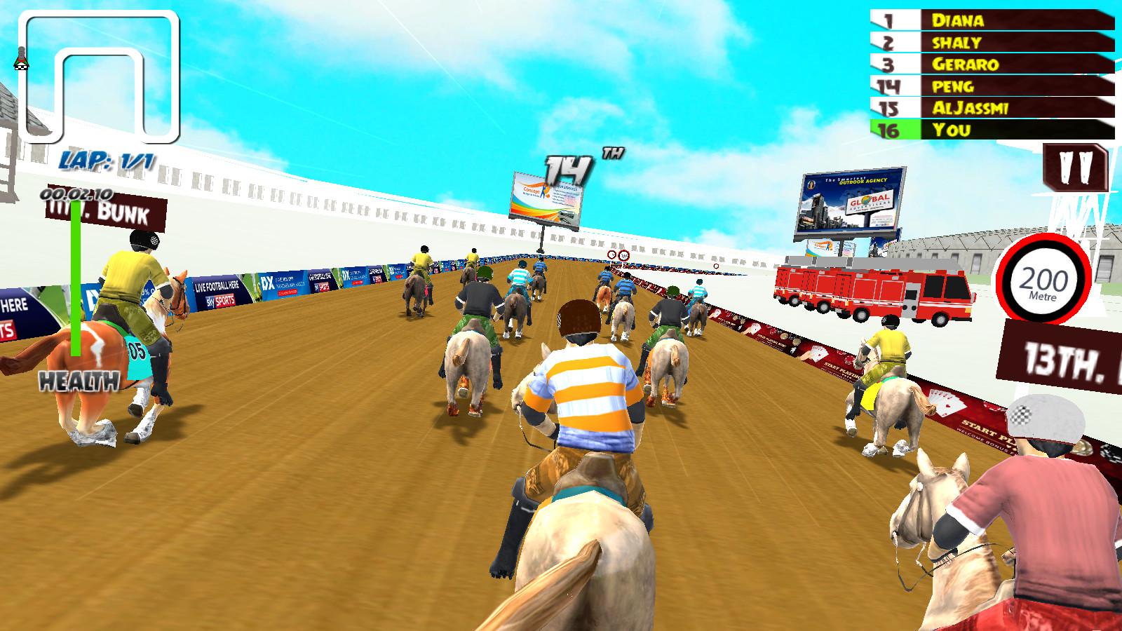 赛马大会图片