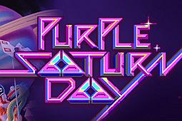 紫色土星日