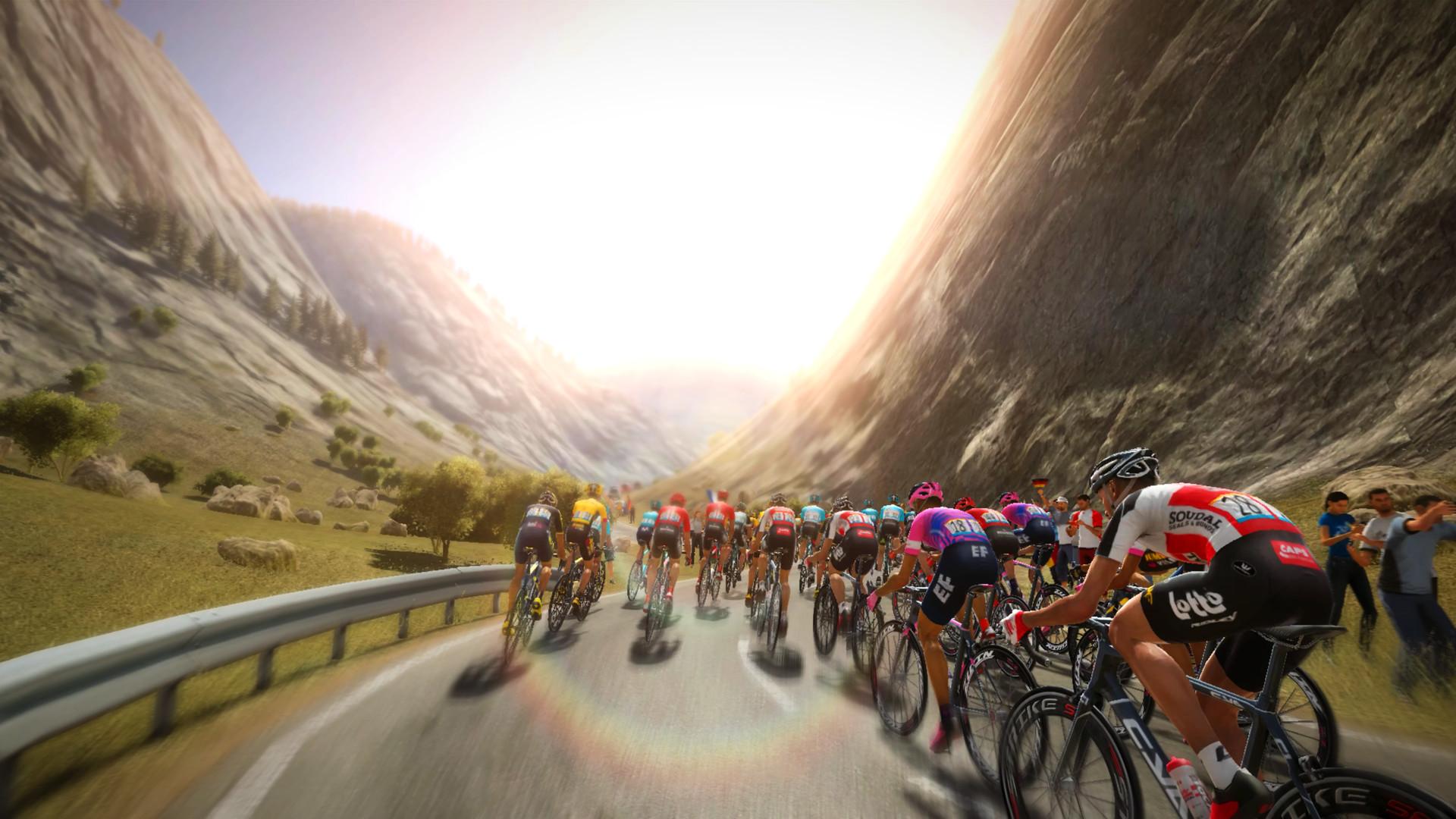 环法自行车赛2020图片