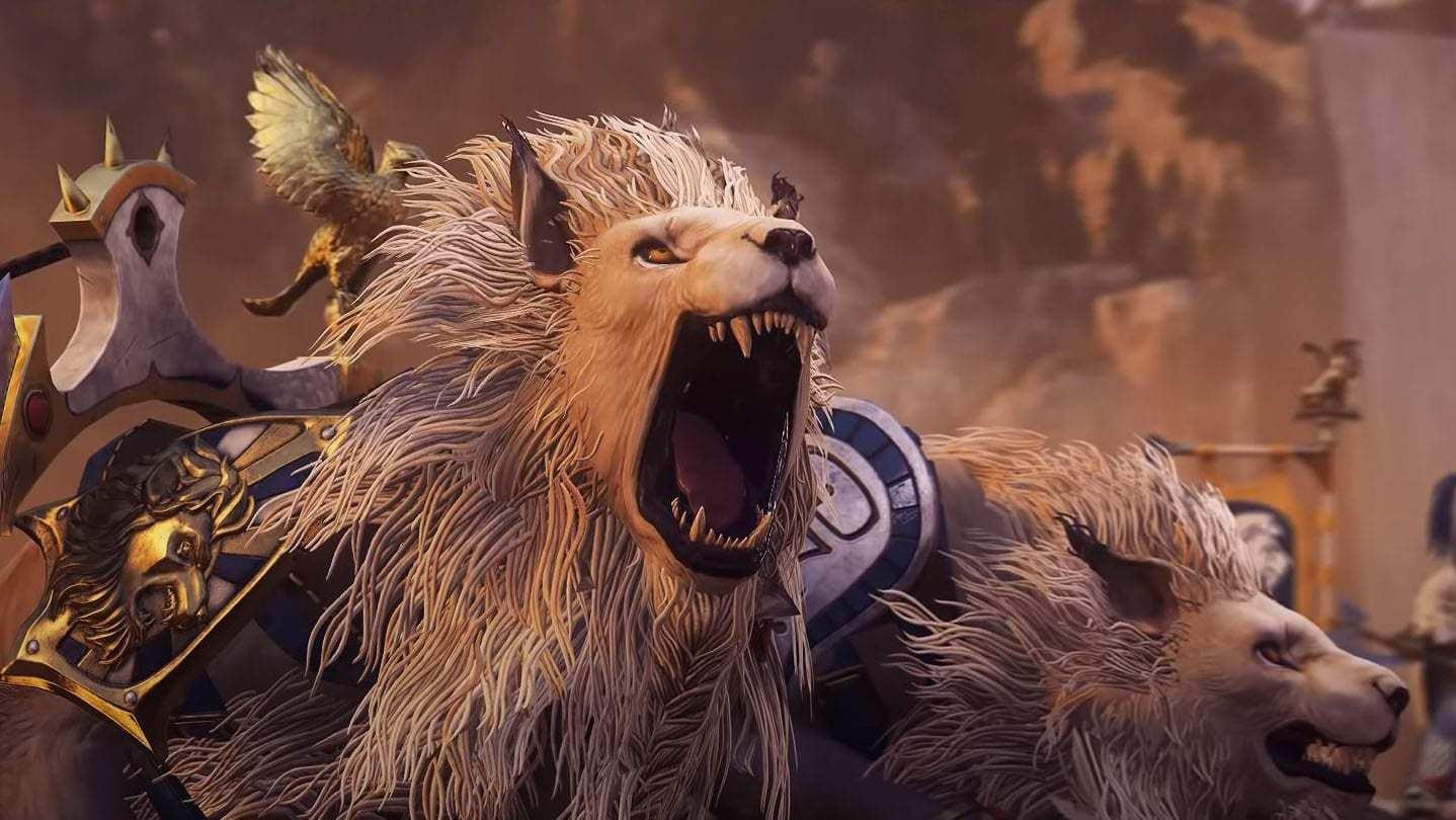 《全面戰爭:戰錘2》公佈DLC預告 白獅戰車霸氣側漏
