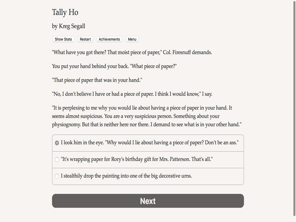 Tally Ho图片