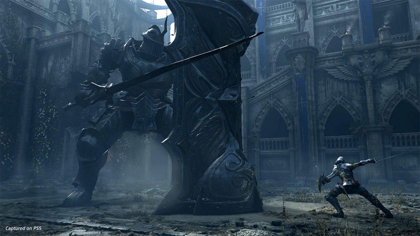 《惡魔之魂:重制版》PS5官網發新截圖 大戰高塔騎士