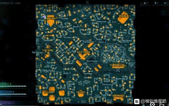 超猎都市游戏内地图一览