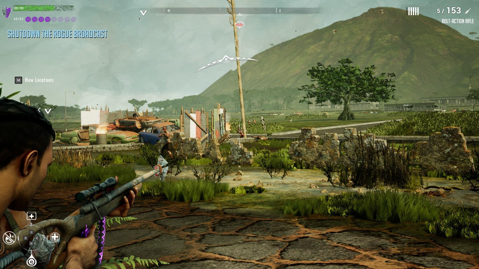 瓦胡岛的灰烬图片