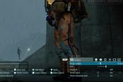 《死亡搁浅》中玩家用拍照模式观察弩哥尿尿…