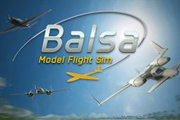轻木模型飞行模拟器