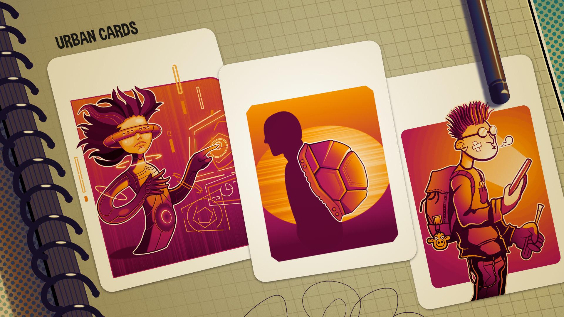 都市卡牌图片