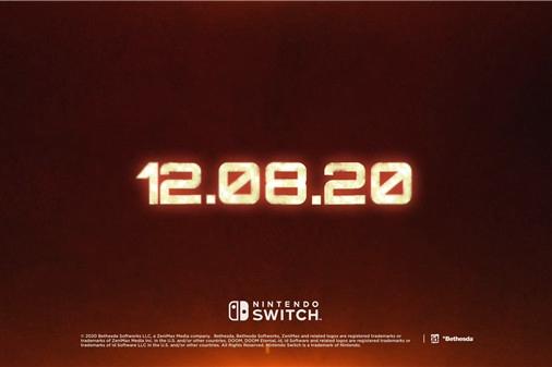 B社宣布《毁灭战士:永恒》将于12月8日登陆NS